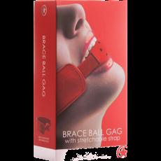 Brace Ball Gag (Red)