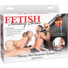 Fantasy Bed Restraint System (Black)