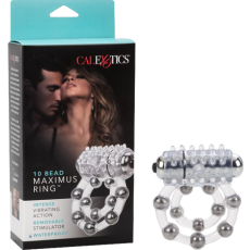 Waterproof Maximus Enhancment Ring - 10 Beads (Clear)