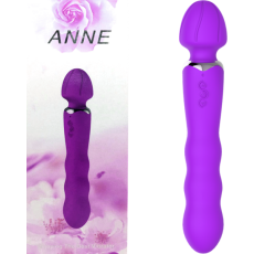 Anne Rechargeable Wand (Purple)