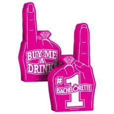 #1 Bachelorette Foam Hand