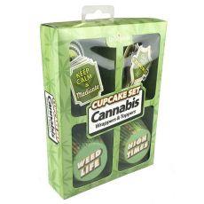 Cannabis Cupcake Set