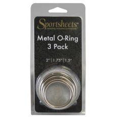"""Metal O Ring 3 Pack 2"""""""