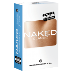 Condom Ultra Thin 12pk Naked Classic 54mm - (Sold In Packs Of 6)