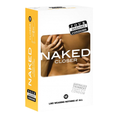 Condom Ultra Thin 12pk Naked Closer 49mm - (Sold In Packs Of 6)