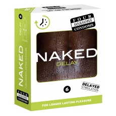 Condom 12pk Naked Delay 54mm - (Sold In Packs Of 6)