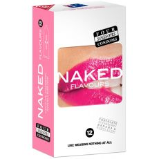 Condom Ultra Thin 12pk Naked Flavours 54mm - (Sold In Packs Of 6)