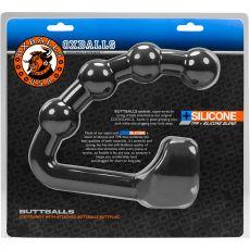 Buttballs Asslock & Cocksling Black Ice anal beads plug Cock Ring penis
