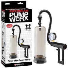 Pipedream Pump Worx Pistol-Grip Power Pump Black
