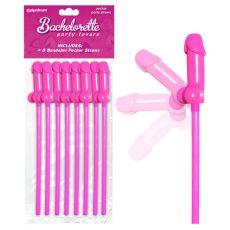 Bachelorette Party Favors Bendable Pecker Straws