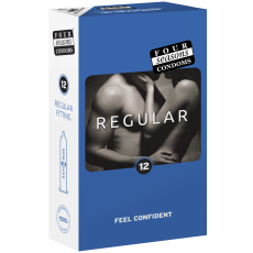 Condom 12pk Regular 54mm - (Sold In Packs Of 6)