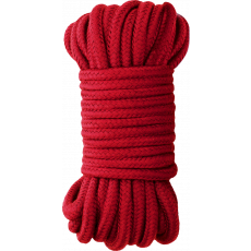10M BONDAGE ROPE Silky Soft Firm Restraints RED