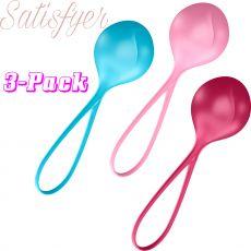 Satisfyer Loveballs 3 Pack Single Kegel Balls