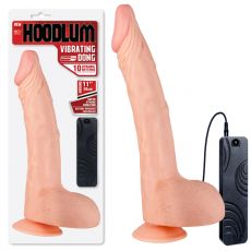 "Excellent Power Hoodlum 11"" G-Spot Vibrator Dildo Suction Cup Remote Control"