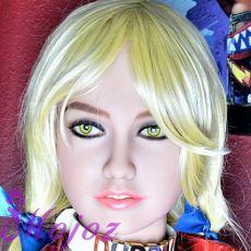 WM #141-B JOCELYNE Realistic TPE Sex Doll Head