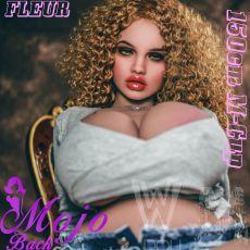 WM 150cm M-cup FLEUR Realistic TPE Sex Doll