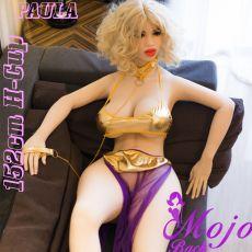 WM 152cm H-cup PAULA  Realistic TPE Sex Doll