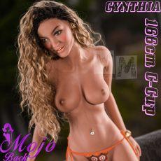 WM 166cm C-cup CYNTHIA Realistic TPE Sex Doll