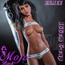 WM 166cm C-cup Esmee Realistic TPE Sex Doll
