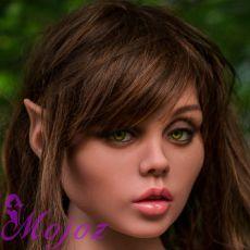 WM #172 EFFIE Realistic TPE Sex Doll Head
