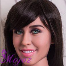 WM #179-A ARIANNA Realistic TPE Sex Doll Head