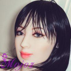 WM #184 LEIGHTON Realistic TPE Sex Doll Head