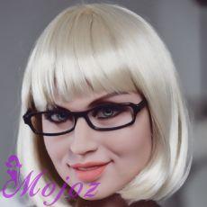 WM #195 JENNA Realistic TPE Sex Doll Head