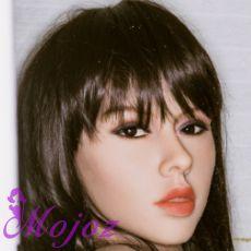 WM #198-4 RHONDA Realistic TPE Sex Doll Head
