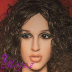 WM #198-5 MABEL Realistic TPE Sex Doll Head