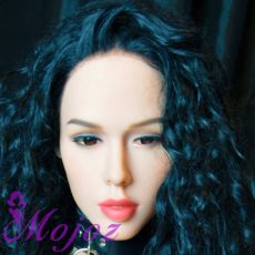 WM #198-8 ZARIA Realistic TPE Sex Doll Head