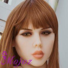 WM #198 CELESTE Realistic TPE Sex Doll Head