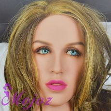 WM #203-B JOLENE Realistic TPE Sex Doll Head