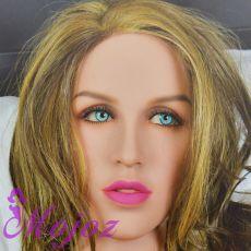 WM #203-B JOLENE Realistic TPE Sex Doll Head
