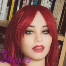 WM #234-5 RAVEN Realistic TPE Sex Doll Head