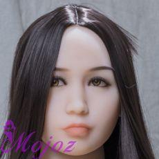 WM #235 EMILY Realistic TPE Sex Doll Head