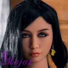 WM #235-D TATUM Realistic TPE Sex Doll Head