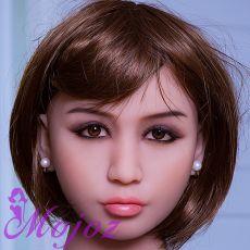 WM #235-E DAHLIA Realistic TPE Sex Doll Head