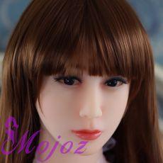 WM #45 HARLOW Realistic TPE Sex Doll Head