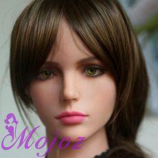 WM #5-A KENZIE Realistic TPE Sex Doll Head