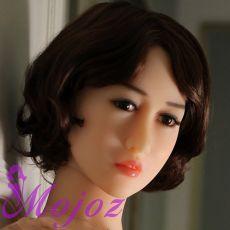 WM #73 MARGOT Realistic TPE Sex Doll Head
