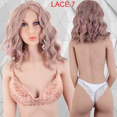 Lace Front Wig CURLY STRAWBERRY BLOND